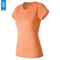 New Balance Women's Heather Short Sleeve Tee
