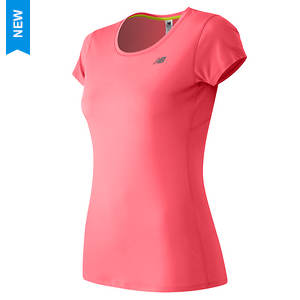 New Balance Women's Accelerate Short Sleeve Tee