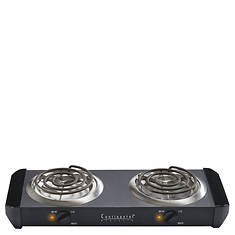Continental Electric 1500 Watt Dual Burner