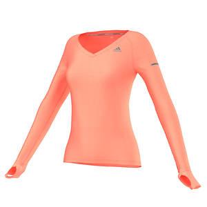 Adidas Women's Sequencials Heathered LS Tee