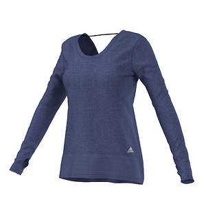 Adidas Women's Mesh Mix Long Sleeve Cover Up