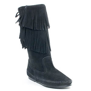 Minnetonka 2-Layer Fringe Boot (Women's)