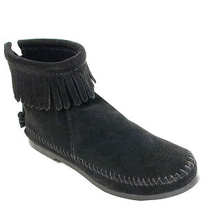 Minnetonka Back Zip Boot Hardsole (Women's)