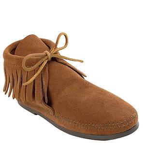 Minnetonka Classic Fringe Boot Hardsole (Women's)