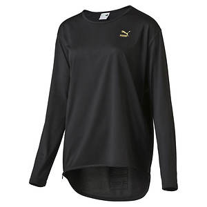 Puma Women's Puma Print LS Top