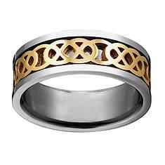 Titanium Celtic Knot Ring