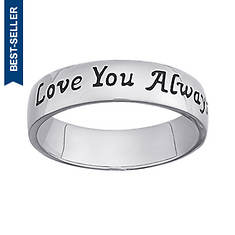 Sterling Silver Love Always Ring