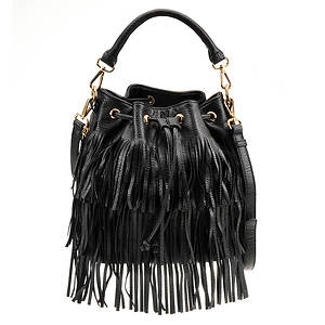 Urban Expressions Arizona Fringed Bucket Bag