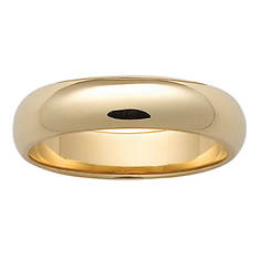 14K Gold-Plated Wedding Band