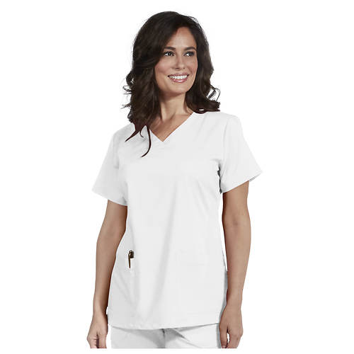 Nurse Mates Women's Maci V-Neck Top