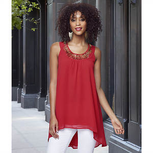 Lavish High Low Tunic