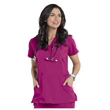 Nurse Mates Women's Lauren Cross Over Top