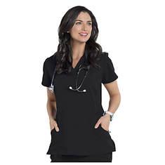 Nurse Mates Women's Lauren Cross Over Top