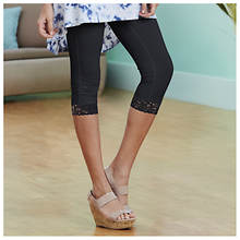 Everyday Lace Capri Legging