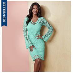 Lively Lace Dress