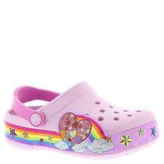 Crocs™ Crocslights Rainbow Heart Clog (Girls' Toddler-Youth)