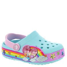 Crocs™ Crocslights Rainbow Heart Clog (Girls' Toddler-Youth)