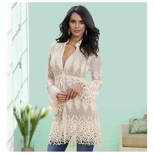 Lace Tunic Jacket