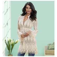 Lace Tunic Jacket