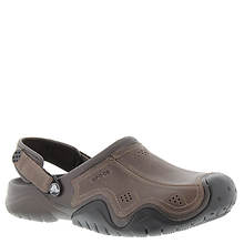 Crocs™ Swiftwater Leather Clog (Men's)
