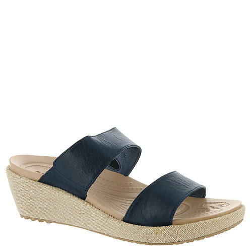 a3bf8be29281 Crocs™ A-Leigh 2-Strap Mini Wedge (Women s) - Color Out of Stock ...