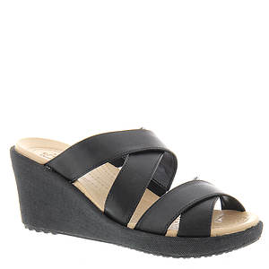 Crocs™ A-Leigh Crisscross Wedge (Women's)