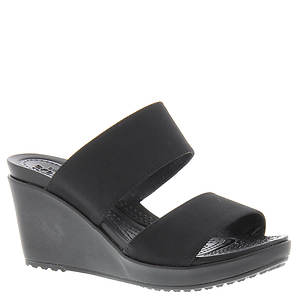 Crocs™ Leigh II 2-Strap Wedge (Women's)