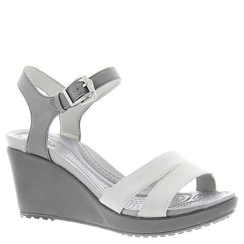 Crocs™ Leigh II Ankle Strap Wedge (Women's)