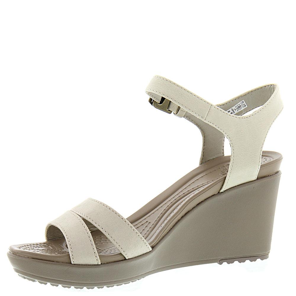 Crocs Leigh Ii Ankle Strap Wedge Women S Sandal