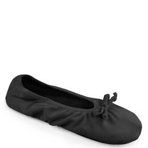 MUK LUKS Stretch Satin Ballerina Slppr (Women's)
