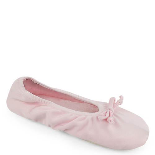 MUK LUKS Stretch Satin Ballerina Slipper (Women's)