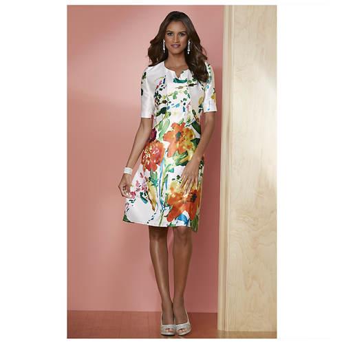 Bouquet Jacket Dress