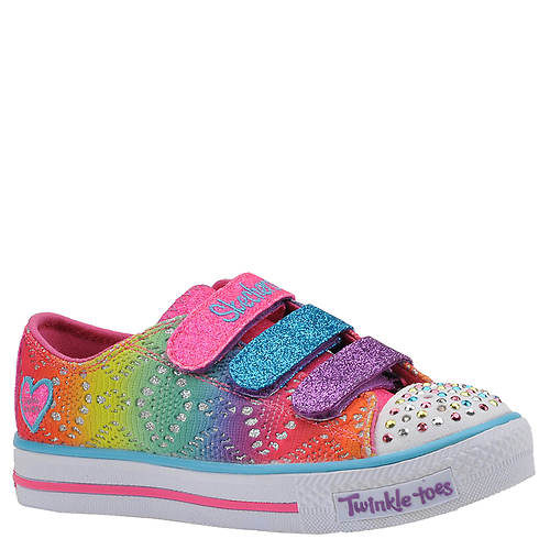Skechers Twinkle Toes: Shuffles-Rainbow Madness (Girls' Toddler-Youth)