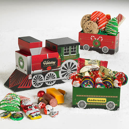 Personalized Holiday Express Treats