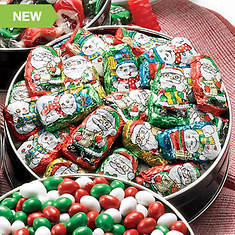 candy snacking favorite chocolate santas helpers - Christmas Hard Candy