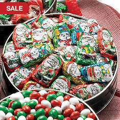 Candy Snacking Favorite - Chocolate Santa's Helpers