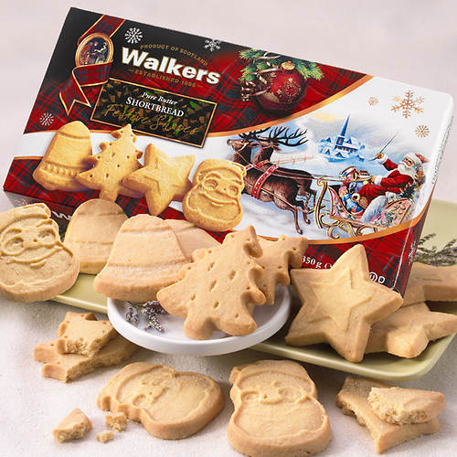 Walkers Festive Shortbread Cookies