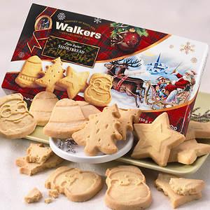 Walkers Festive Shortbread Cookies