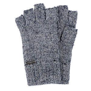 Steve Madden Women's Metallurgy Knit Fingerless Gloves
