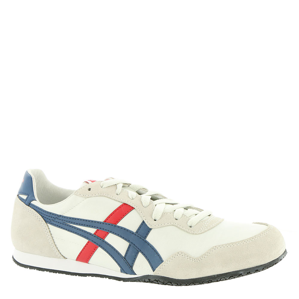 60s Mens Shoes | 70s Mens shoes – Platforms, Boots Onitsuka Tiger by ASICS Serrano Unisex White Sneaker 9 M $84.95 AT vintagedancer.com