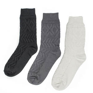 Muk Luks Women's 3-Pack Pointelle Crew Socks