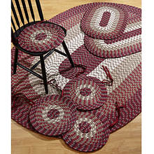 Alpine 7 Piece Braided Rug Set