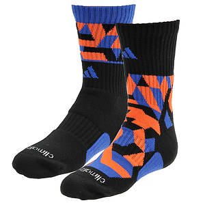 adidas Boys' Energy Camo 2-Pack Crew Socks