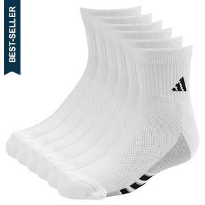 adidas Boys' Graphic 6-Pack Quarter Socks