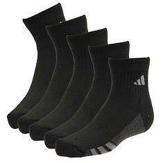adidas Boys' Graphic 6-Pack Quarter Socks