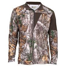 Rocky Men's SilentHunter 1/4 Zip Shirt