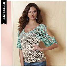 Ombre Crochet Top