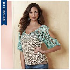 Ombre Crochet Top
