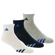 adidas Color Cushioned 3-Pack Quarter Socks (Men's)