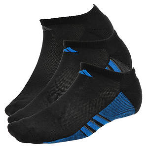 adidas Climacool Superlite 3-Pk No Show Socks (Men's)